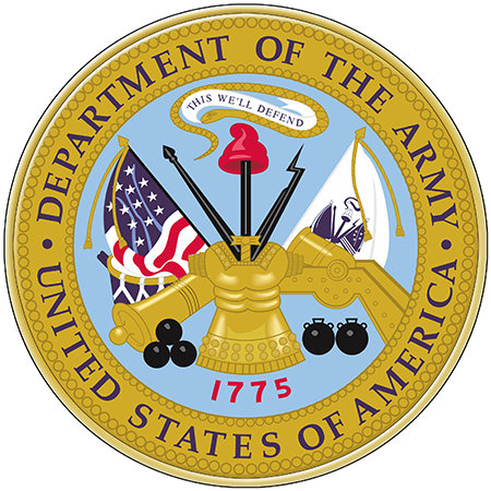 US ARMY SEAL * 8'' x 8'' 10655