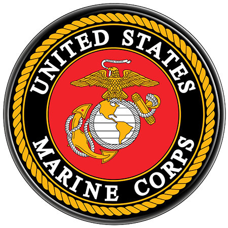 US MARINES SEAL * 8'' x 8'' 10656
