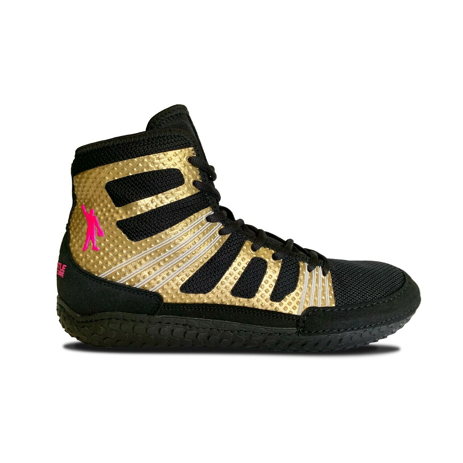 TG Predator - Pin Cancer™ Gold Edition Wrestling Shoe