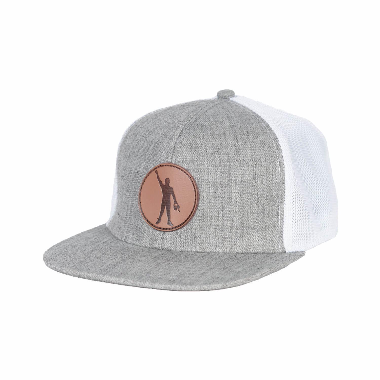 TG Pin Cancer Snapback - White/Grey 500