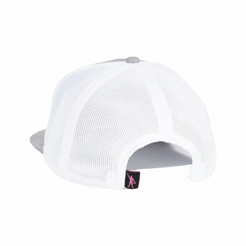 TG Pin Cancer Snapback - White/Grey