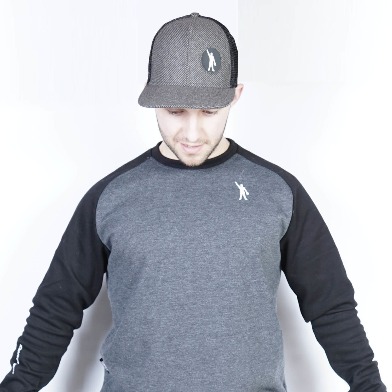 TG Pin Cancer SnapBack - Black/Grey