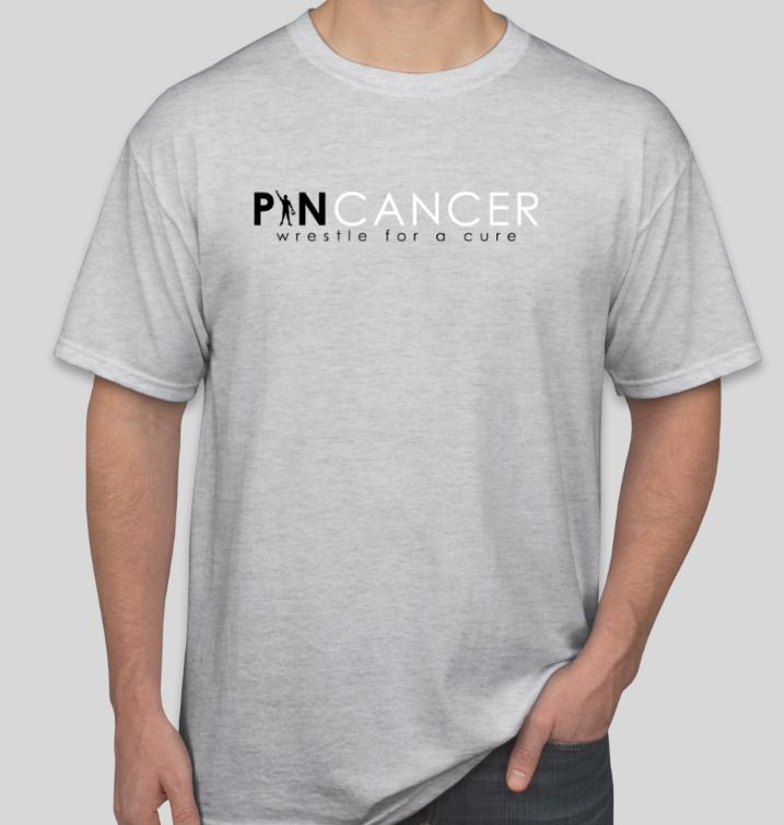 Pin Cancer Graphic T-Shirt (Ash) 00017