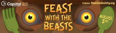 Feast with the Beasts Tickets