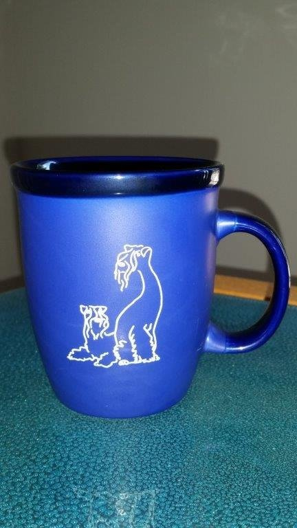Kerry Blue Terrier Mug 00001