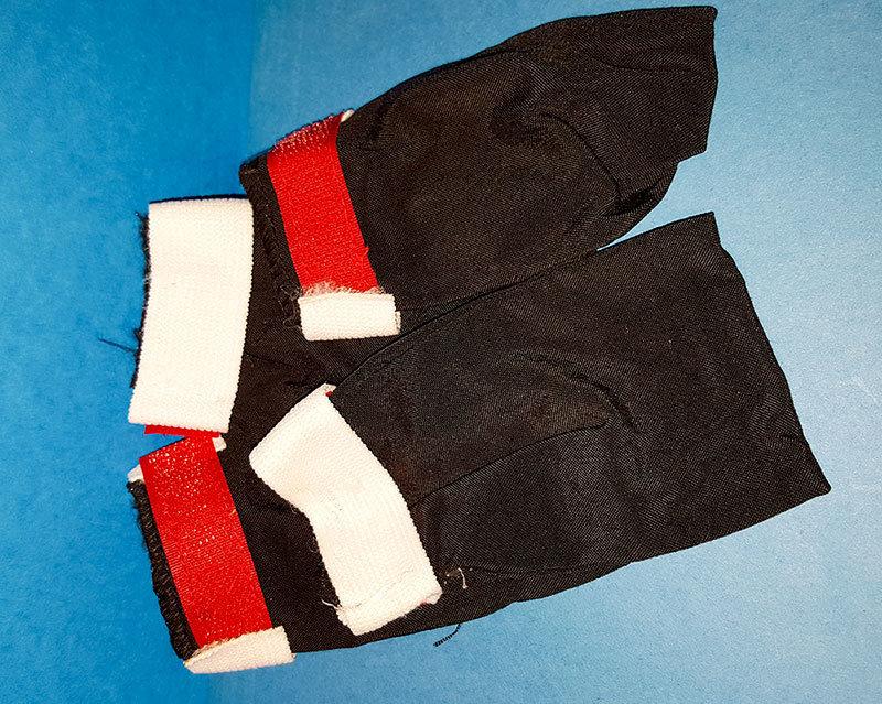 Canvas or Fleece Booties (set of 4) 00002