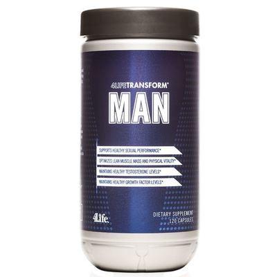 4Life MAN - gezond ouder worden - bevat vitamine D3