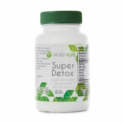 4Life - Super Detox - lever ondersteuning & ontgifting