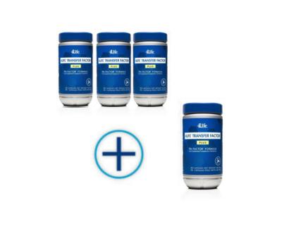 4Life Transfer Factor PLUS - 4 pack met korting