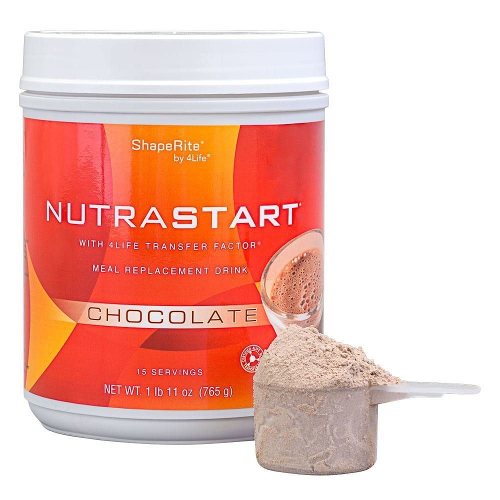 4Life Nutra Start met Transfer Factor - Chocolade - maaltijdvervanger