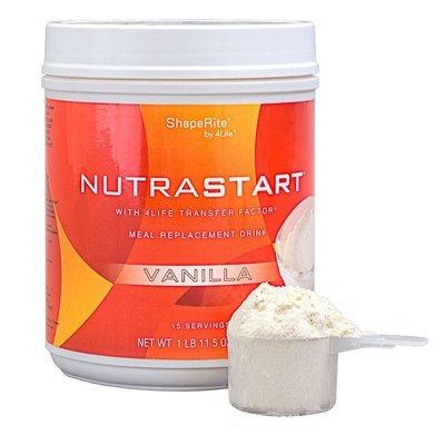 4Life Nutra Start met Transfer Factor - Vanille - maaltijdvervanger