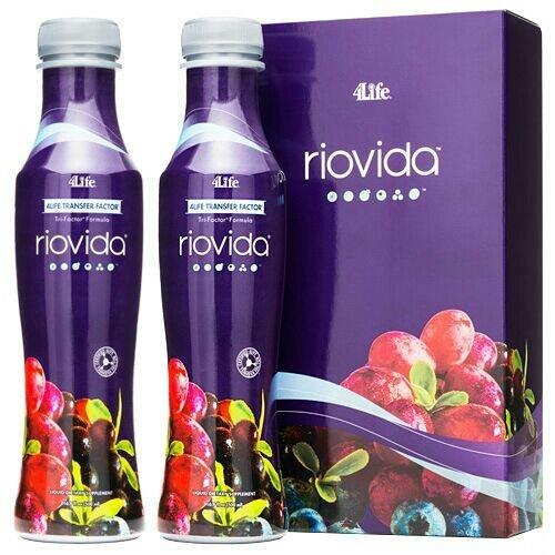 4Life Transfer Factor - RIOVIDA siroop/vloeibaar - 2 flacons/flessen elk 500 ml