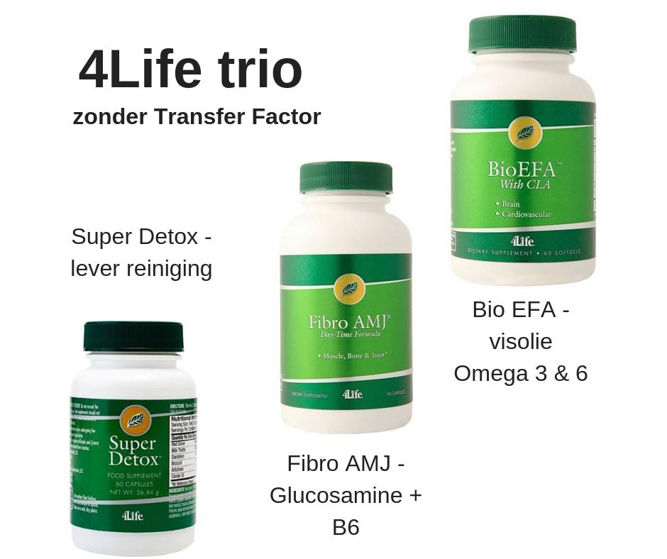 4Life 4-Pack - zonder TF - Green Line - 3 verschillende producten 010690