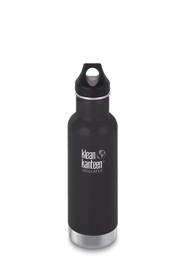 Klean Kanteen Classic Insulated 20oz - Black, Red and Plum In Stock