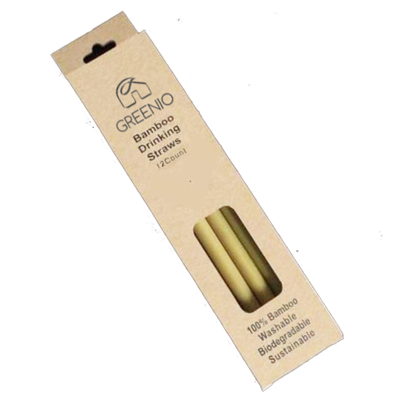 Bamboo Straw (Pack)