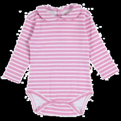 Bodysuit - pink stripe