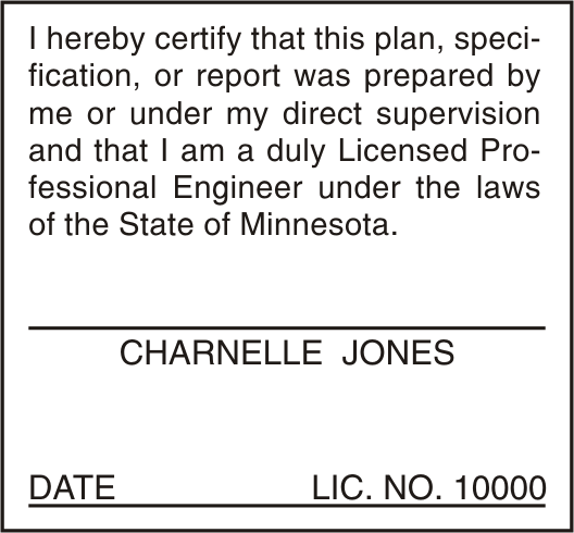 Minnesota Plan Stamp