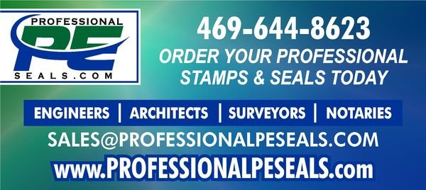 PROFESSIONAL PE SEALS