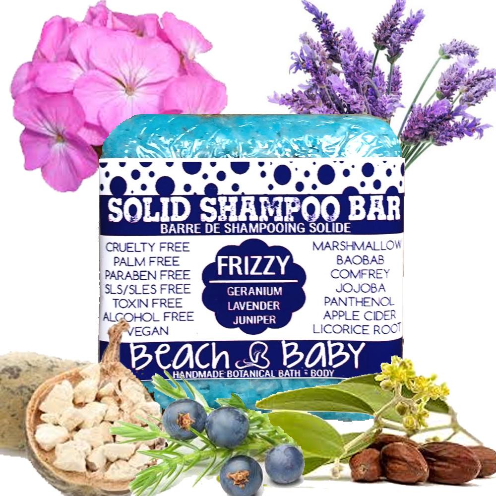 Solid Shampoo Bar - Frizzy Har