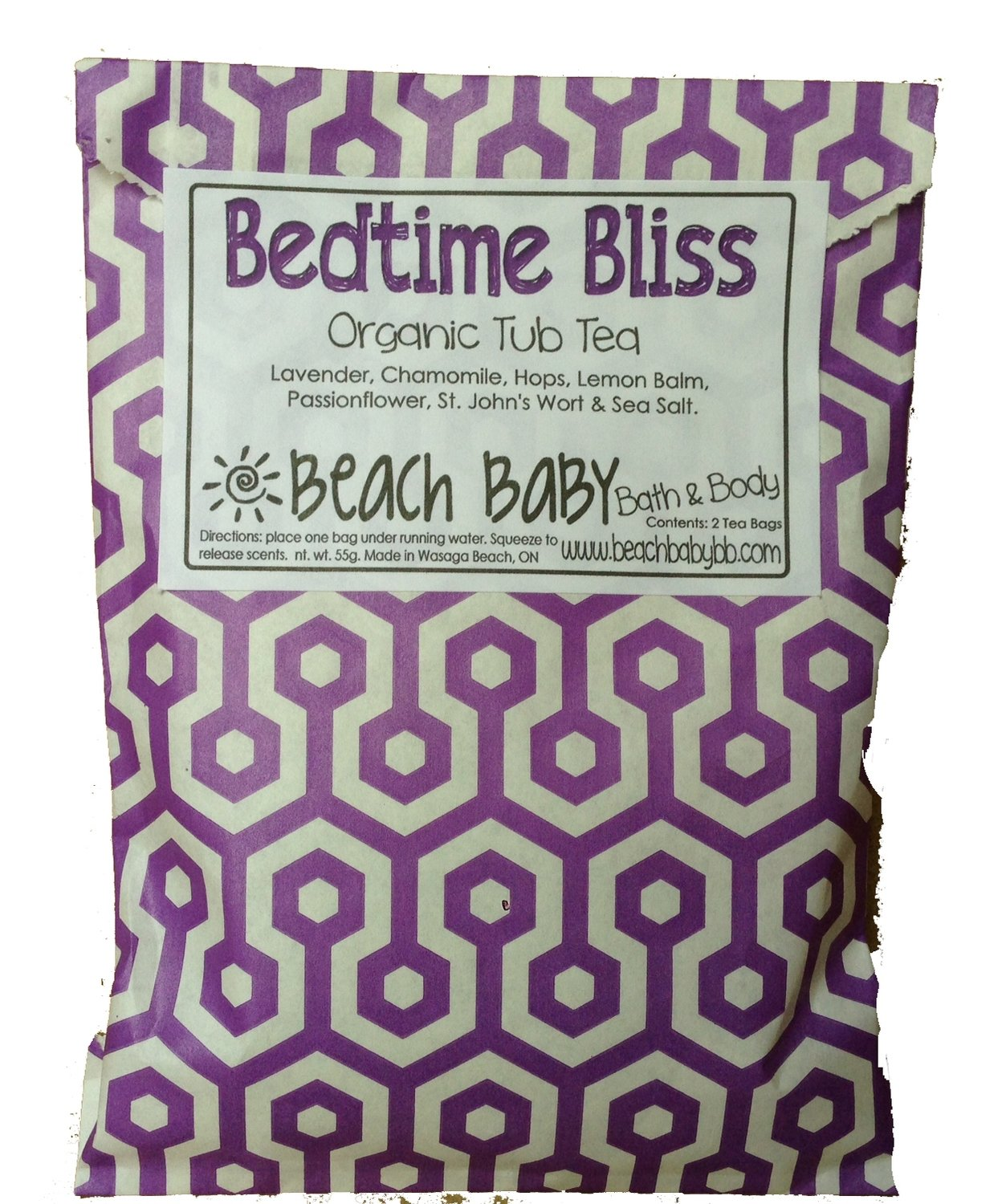 Bedtime Bliss Tub Tea