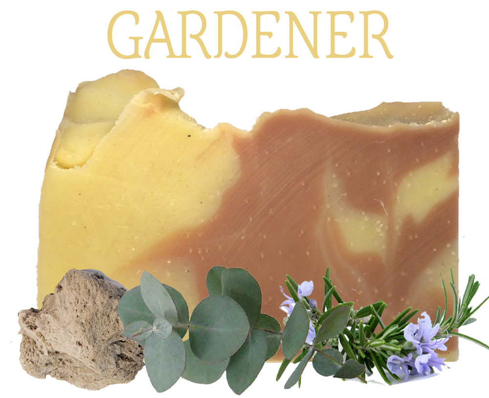 Gardener 100% Natural Essential Oil Soap