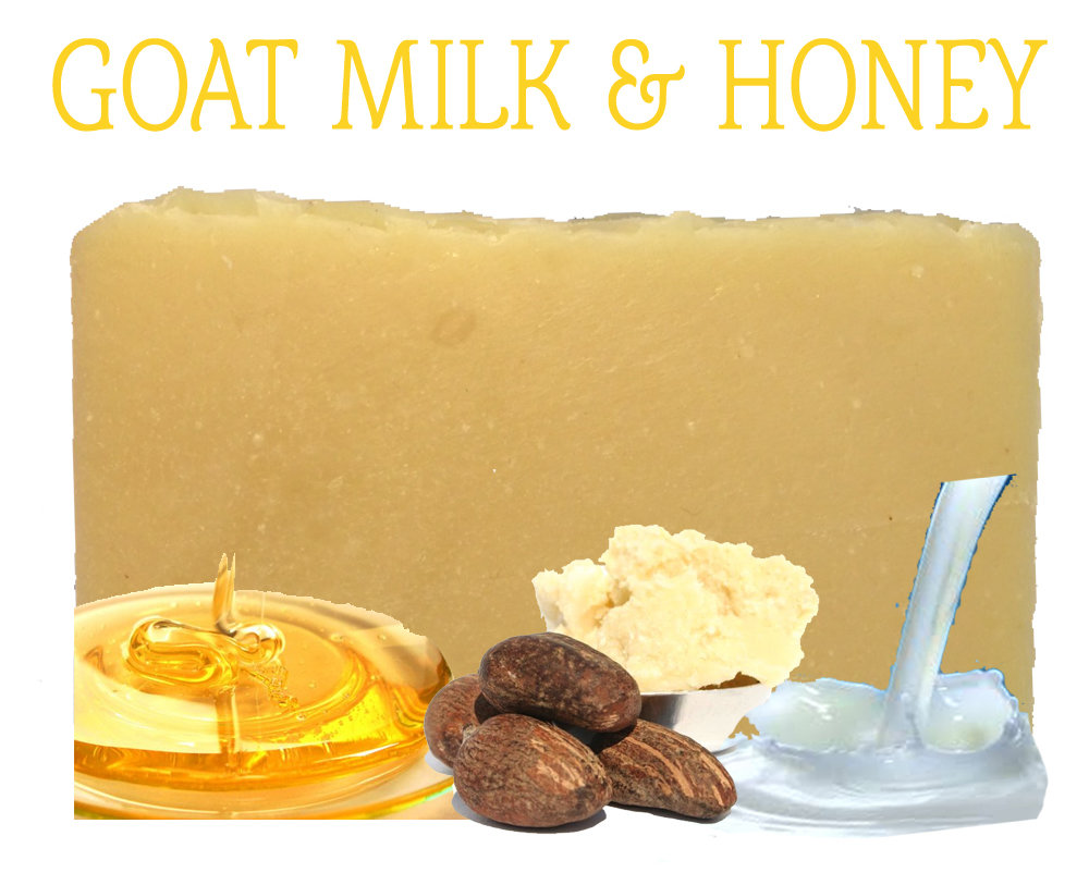 Goat Milk & Honey 100% Natural Soap