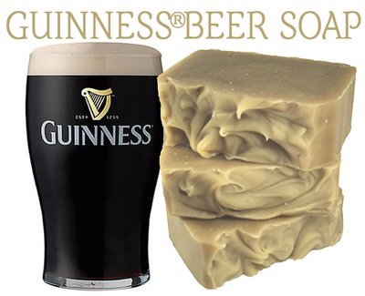 Beer Soap (Guinness®) 100% Natural Soap