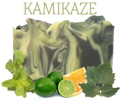 Kamikaze (Men's Line) 100% Natural Essential Oil Soap