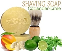 Shaving Soap - Coriander Lime Patchouli