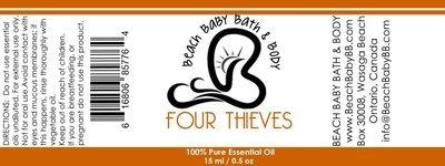 Four Thieves 100% Pure Essential Oil Blend