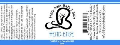Head Ease 100% Pure Essential Oil Blend
