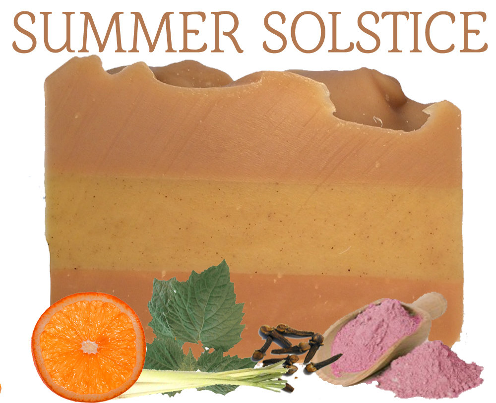 Summer Solstice 100% Natural Essential Oil Soap