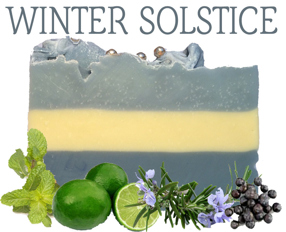 Winter Solstice 100% Natural Essential Oil Soap