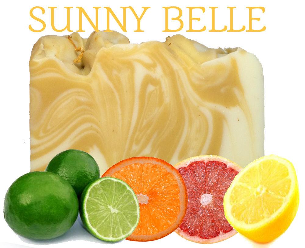 Sunny Belle 100% Natural Essential Oil Soap
