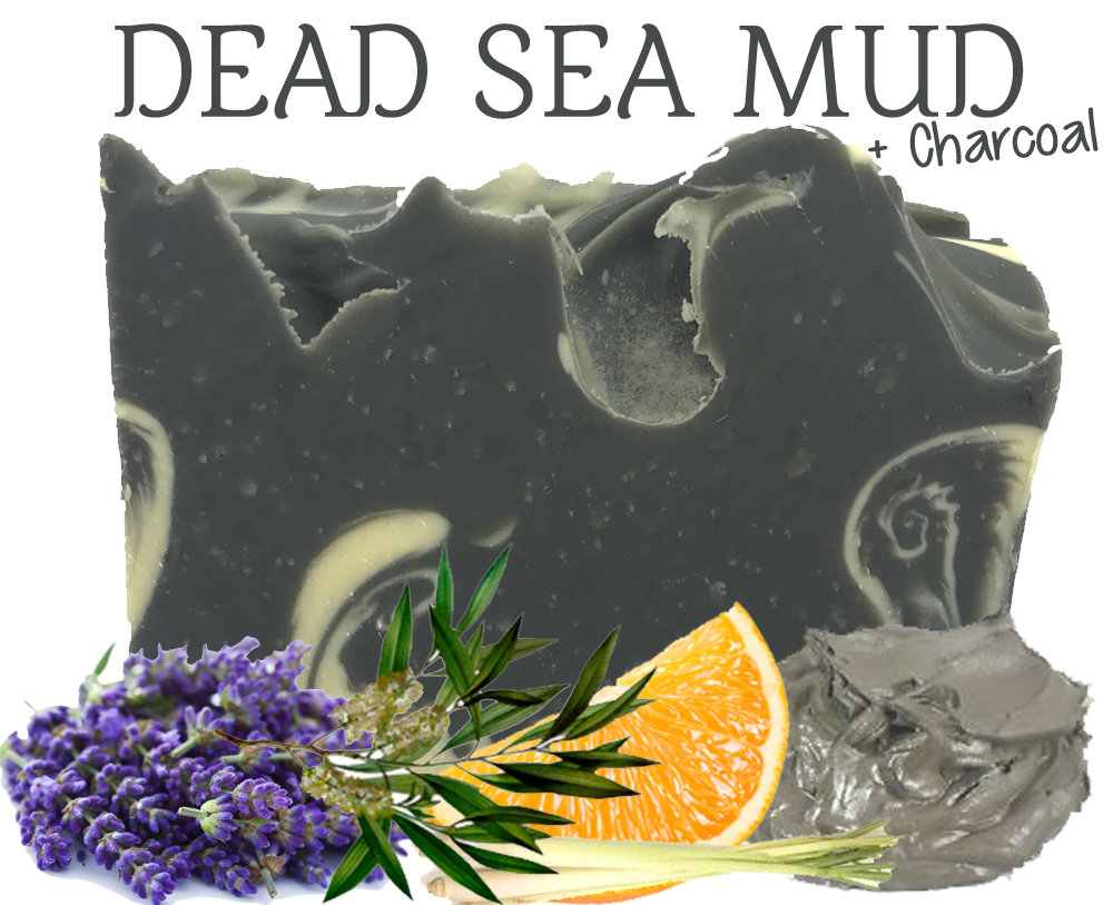 Dead Sea Mud + Charcoal Soap