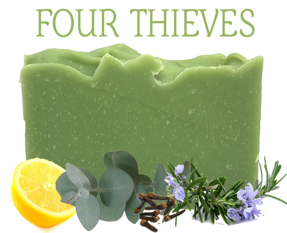 Four Thieves 100% Natural Essential Oil Soap