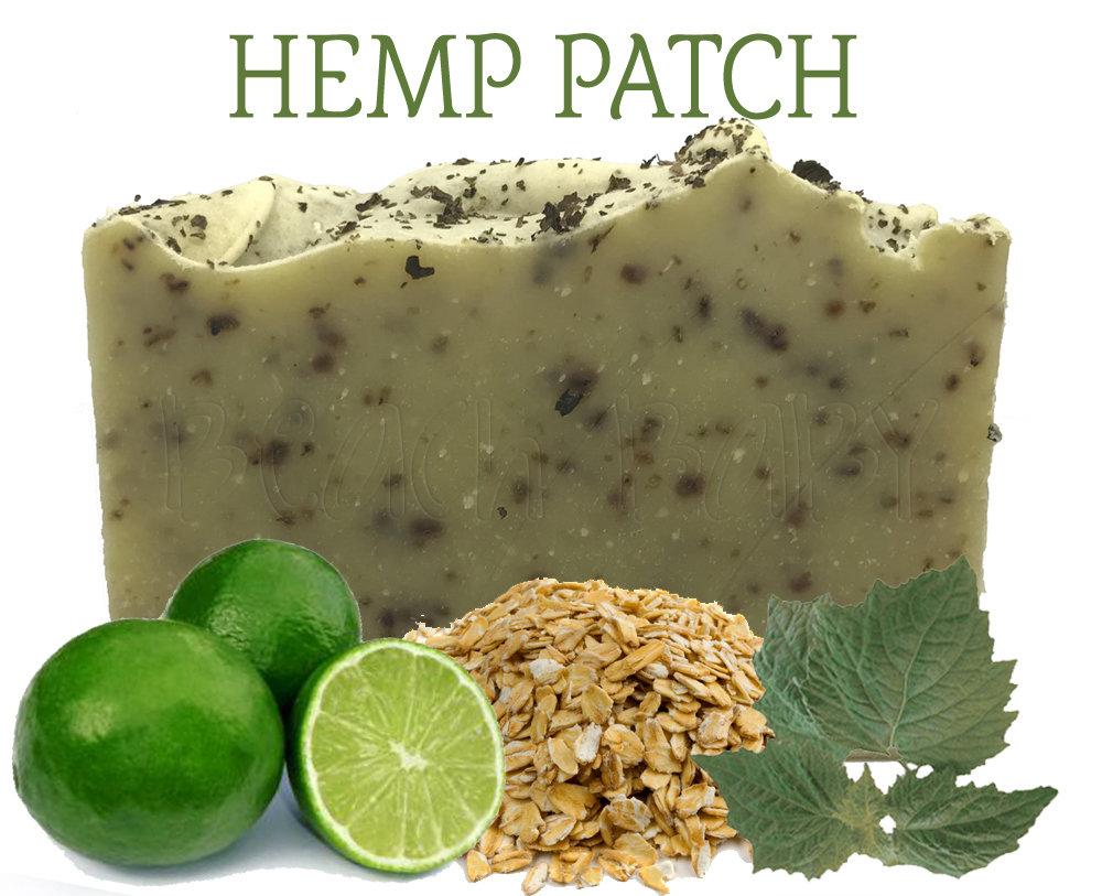 Hemp Patch 100% Natural Essential Oil Soap