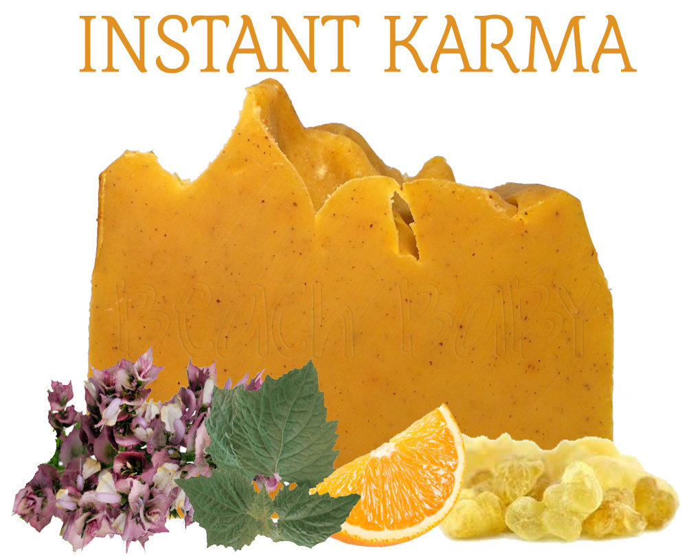 Instant Karma 100% Natural Essential Oil Soap