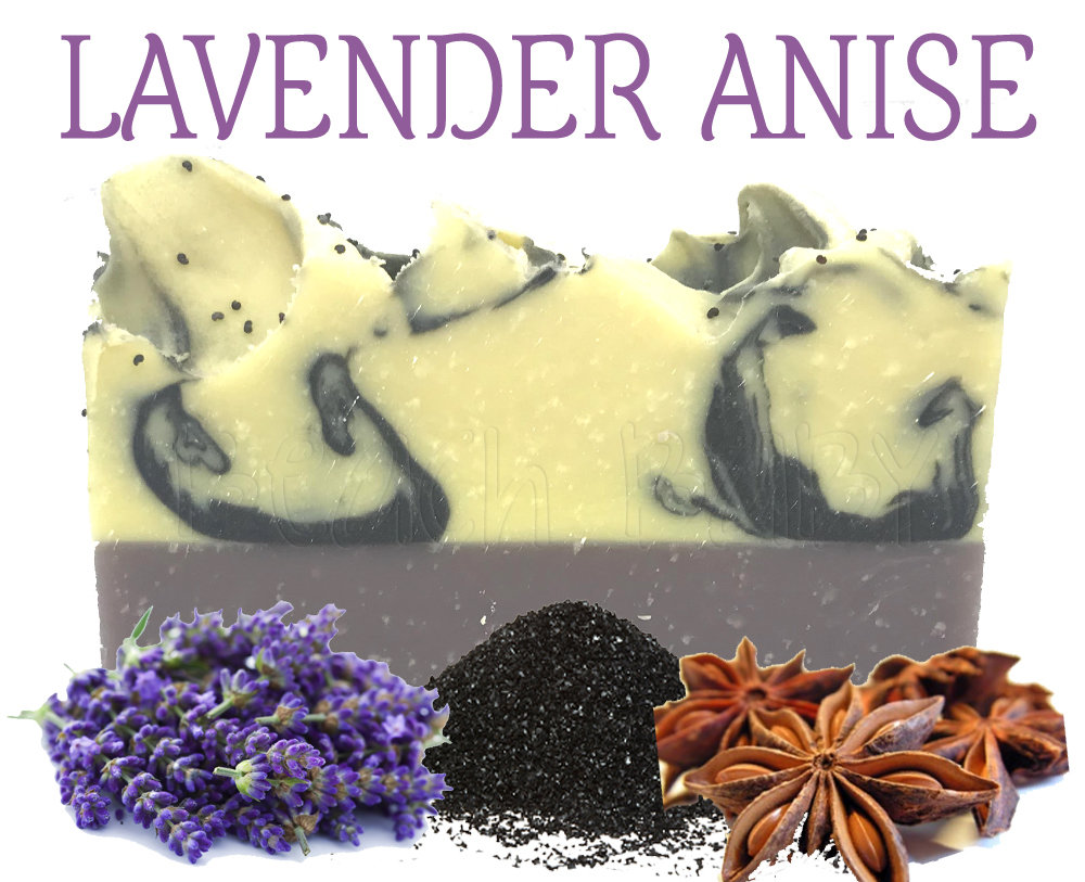 Lavender Anise 100% Natural Essential Oil Soap