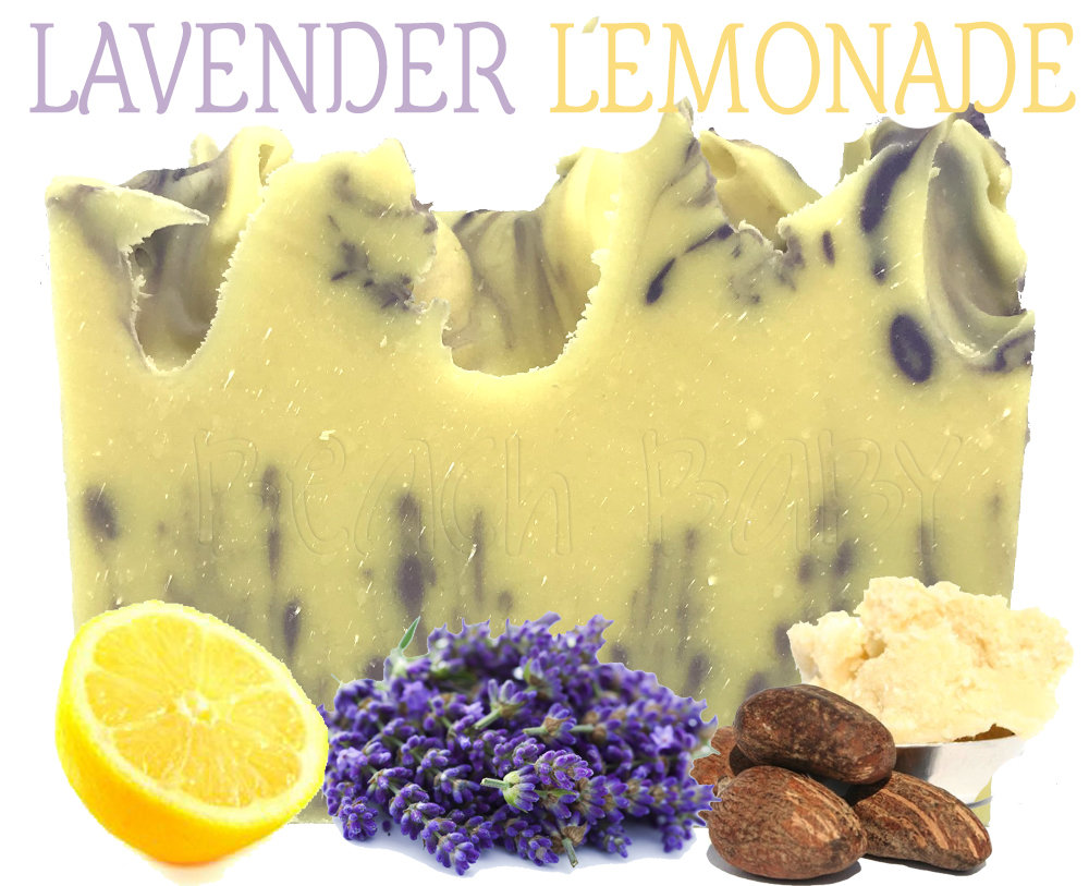 Lavender Lemonade 100% Natural Essential Oil Soap