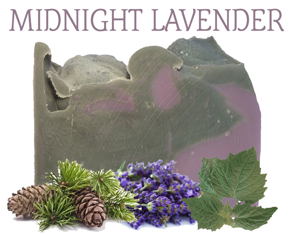 Midnight Lavender 100% Natural Essential Oil Soap