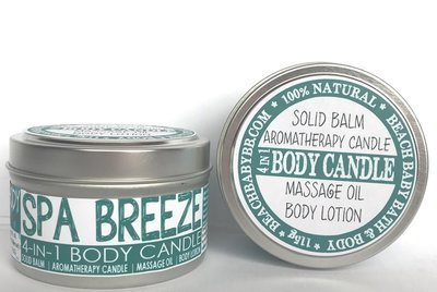 Body Candles: 4-in-1 Soy Massage/Lotion/Oil/Balm