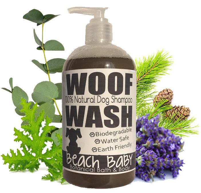Woof Wash - 100% Natural Essential Oil Shampoo