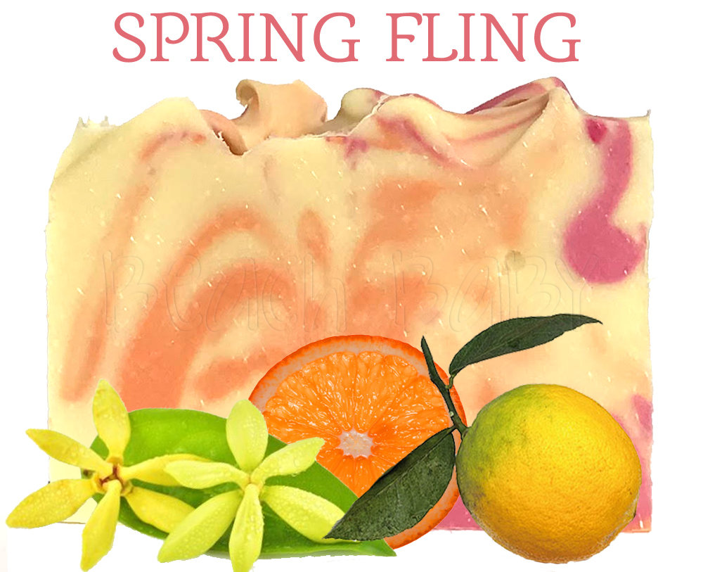 Spring Fling 100% Natural Essential Oil Soap