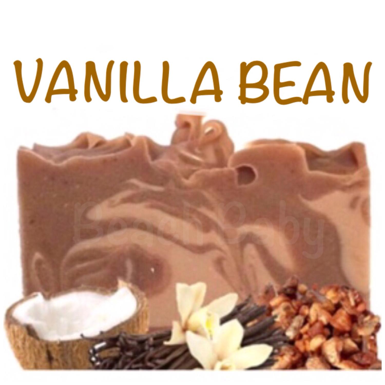 Vanilla Bean 100% Natural Essential Oil Soap