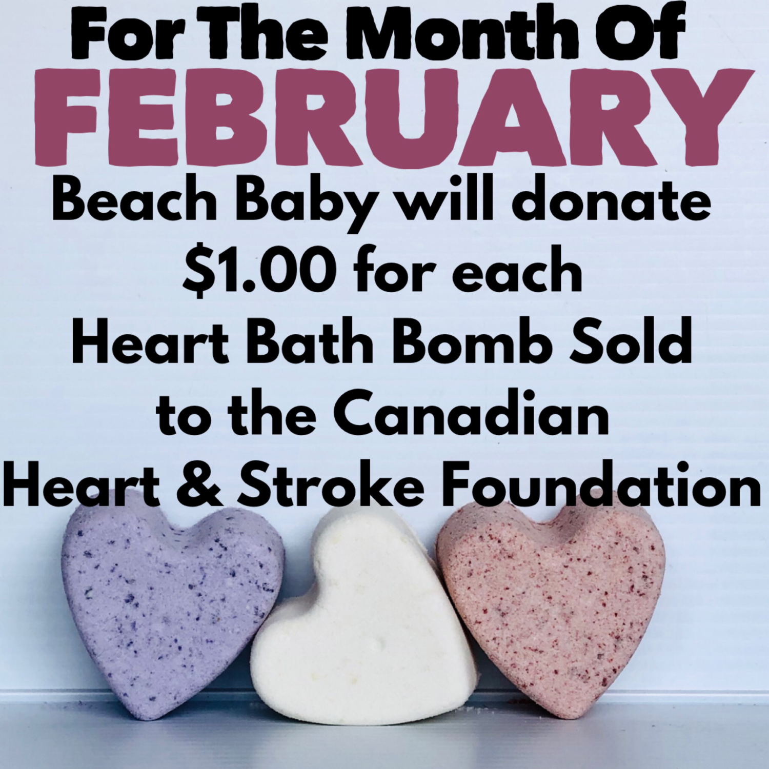 Cosmetics4Causes - FEBRUARY (HEART MONTH)