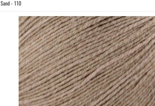Bamboo Pop Yarn 110 Sand