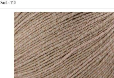 Bamboo Pop Yarn 110 Sand