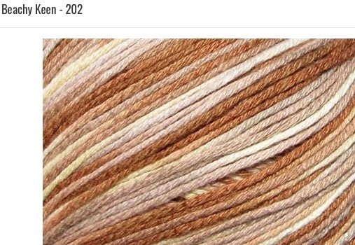 Bamboo Pop Yarn 202 Beachy Keen