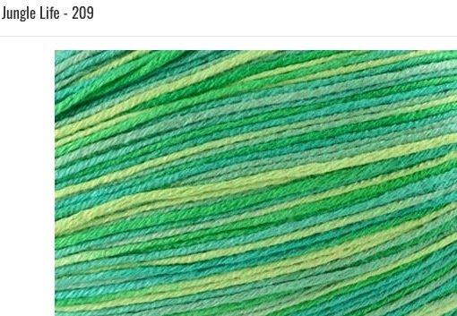 Bamboo Pop Yarn 209 Jungle Life